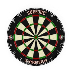 "CUESOUL SHOOTER-I 18""*1-1/2"" Official size tournament sisal bristle dartboard"